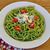 Spinach, Arugula and Walnut Pesto With Whole-wheat Linguine