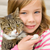 Children and New Cats