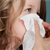 When my kid's sick, his nose runs nonstop. How do I help him prevent nose irritation?