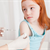 Is it safe for my daughter to get her annual shots while she has a cold?