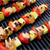 Grilled Smoky Swordfish Kabobs With Pineapple and Red Bell Pepper