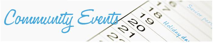 Community Calendar Events