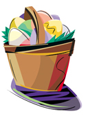 Easter Egg Hunt footer