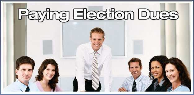 Paying Election Dues