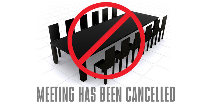 15 2013 is cancelled sorry for any inconvenience this may cause